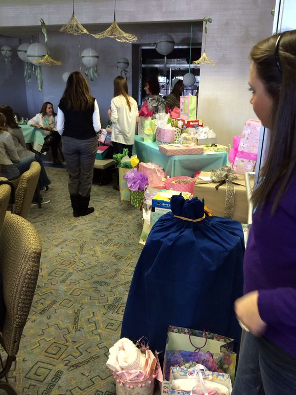 A southern baby shower
